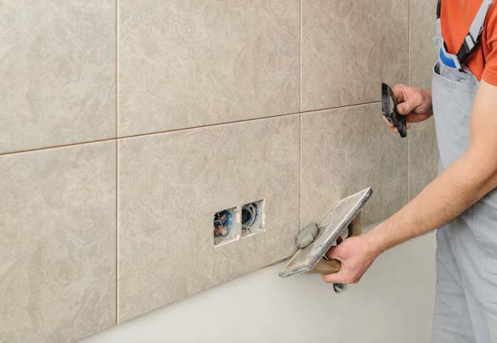 regrouting shower floors and walls grouting